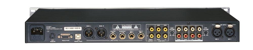 效果器-pal 卡拉ok前级处理器k600/k2000/k1600/k180
